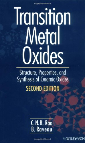 Transition Metal Oxides: Structure, Properties, And Synthesis Of Ceramic Oxides