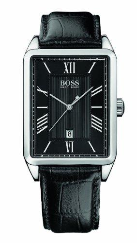 Hugo Boss Men's Rectangular Black Watch
