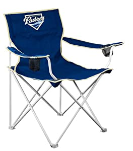 MLB San Diego Padres Deluxe Folding Chair by Logo