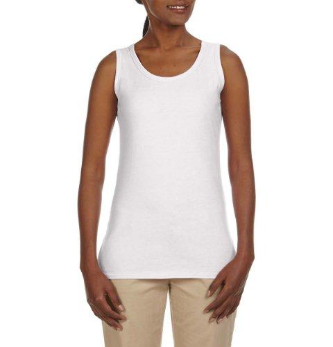 Econscious Ec3700 Ladies 100% Organic Cotton Tank Top - White - 'L front-849246