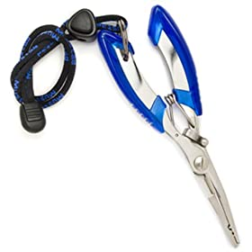 Mustad Multi Purpose Tool Cutter Splitring Pliers
