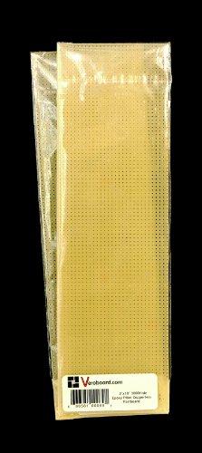 "Pack of 2 Prototype Copperless Perfboard 3""x10"" 3000hole Epoxy Fiber - 1"