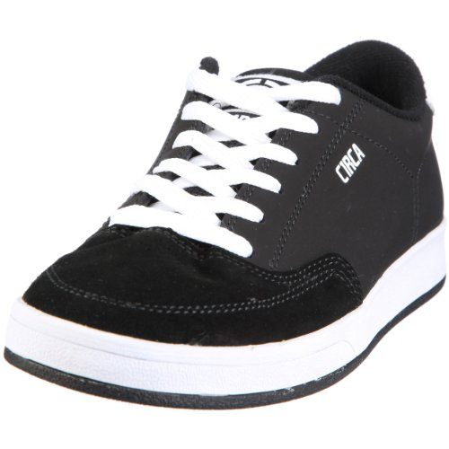 C1RCA Men's Trigger Skate Shoe,Black/White,9 M US