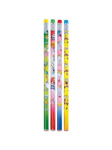 SpongeBob Pencils 36 per pack