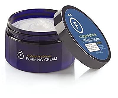 Premium Forming Cream For Men - K+S Salon Quality Hair Care Products for Long & Short Hair - Medium Shine & Medium Hold With 30% More Product Than Other Leading Brands