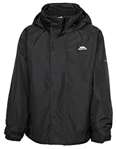 Trespass Skydive 3-In-1 Jacket - Black, Size 2/3