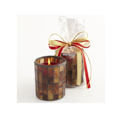 Aromatique The Smell of Christmas Mosaic Candle