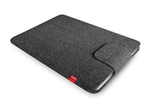 """Freiwild Sleeve 15 RETINA grau-meliert (anthrazit) für MacBook Pro 15"""" Retina. Filz, Schutzhülle, Tasche, Case"""