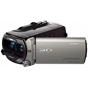 Sony HDR-TD10 High Definition 3D Handycam Camcorder with 10x Optical Zoom (Silver) by Sony