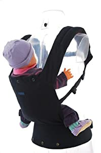 Patapum Baby Carrier Black Version 3