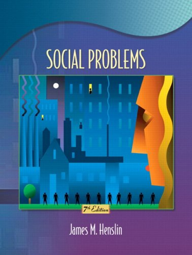 Social Problems with Research Navigator (7th Edition) (MySocKit Series)