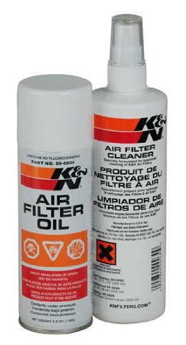 K&N 99-5000Eu Aerosol Recharger Air Filter Care Service Kit front-549259
