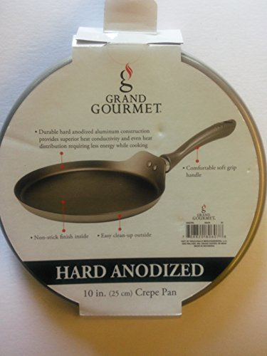 Hard Anodized 10 in.Crepe Pan