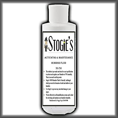16 oz. Stogies Large Cigar Humidor Solution Propylene Glycol 50/50 Pre-mixed by Stogies