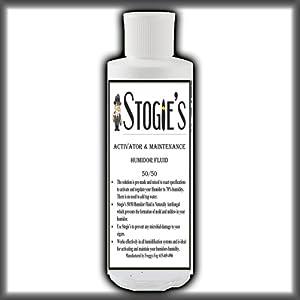 8 oz. Stogies Large Cigar Humidor Solution Propylene Glycol 50/50 Pre-mixed