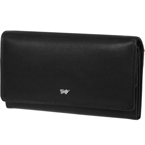 Braun Buffel Organiser Purse Wallet Black