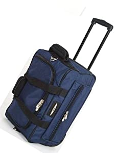 Jeep Wheeled Holdalls 18 inch Flight Hand Luggage Bag 568N
