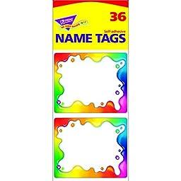 Trend Enterprises Rainbow Gel Name Tags, 3\