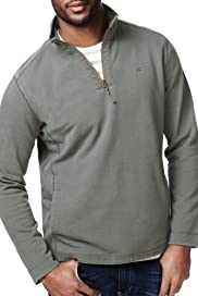 North Coast Pure Cotton Funnel Neck Half Zip Top [T28-2860N-S]