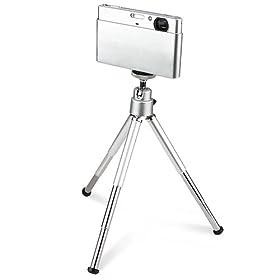 Everydaysource Silver Mini Foldable legs Tripod + 43mm Circular Polarizing Lens (CPL) Lens Filter