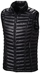 Mountain Hardwear Ghost Whisperer Down Vest - Men\'s Black Large
