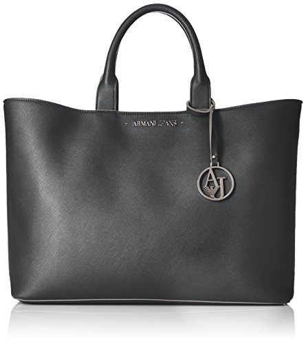 ARMANI JEANS Borsa shopping a mano in saffiano DARK NAVY 922532CC856 31835