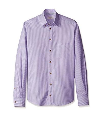 Eton Men's Slim Fit Striped Sportshirt