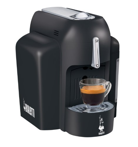 Bialetti 6810 Mini Express Single Serve Espresso Maker, Black