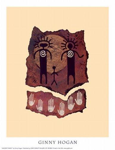 Ancient Family Poster Stampa Artistica di Ginny