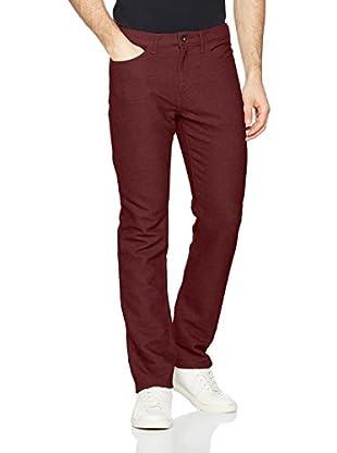 Dockers Pantalón Btr Knitlike 5Pkt Slim Burma (Granate)