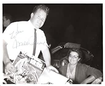 WEBB PIERCE(FAMOUS COUNTRY SINGER)Signed 10x8 B/W Photo - Signed Photographs