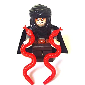 Lego Prince of Persia Mini fig.ure - Hassansin Leader Zolm with Snakes