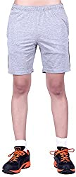 DFH Men's Cotton Shorts (MNG1_$P, Grey, XXL)