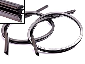 2 x 700mm scheibenwischer ersatz gummi f r bosch elektronik. Black Bedroom Furniture Sets. Home Design Ideas
