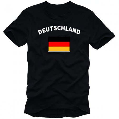 Coole-Fun-T-Shirts Herren T-Shirt  DEUTSCHLAND