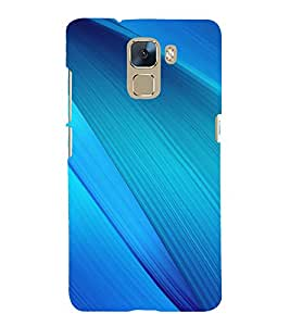 printtech Abstract Design Back Case Cover for Huawei Honor 7 Enhanced Edition / Huawei Honor 7 Dual SIM with dual-SIM card slots