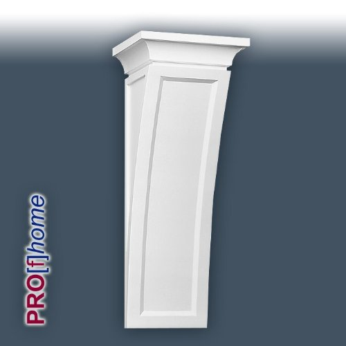 B410 Corbel. This elegant corbel has simple clean curves that create an impression of graceful strength. Used in hallways the B.410 corbels create an almost arch like experience, but without the need for time consuming plastering. Used externally the B410