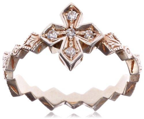[ローリーロドキン] loree rodkin native princess cross ring/リング 01RNAT10-886 日本サイズ11号