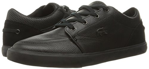 Lacoste Men's Bayliss 316 1 Spm Fashion Sneaker, Black, 9.5 M US