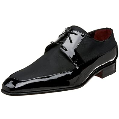 Moreschi Men's Lawford Formal Dress Shoe,Black,7 M