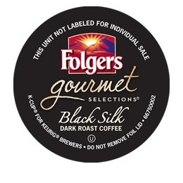 FOLGERS BLACK SILK K CUP COFFEE 48 COUNT