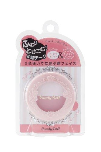 CandyDoll キャンディードール チークカラーデュオ キャンディピンク