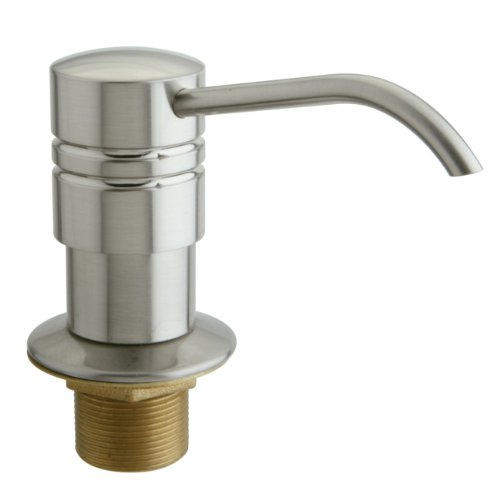 Kingston Brass SD2618 Milano II Soap Dispenser, Satin Nickel
