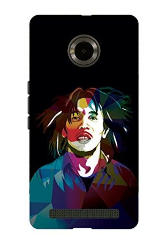 Kaira brand Designer Back Case Cover for Micromax YU Yuphoria (Bob Marley)