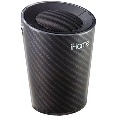 Ihome Cupholder Portable Bluetooth Speakerphone (Black)