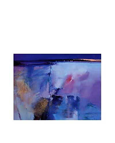 FOOL COLORS by MANIFATTURE COTONIERE Cubresofá Ocean Azul/Multicolor 100 x 85 cm