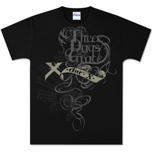 Three Days Grace - Midnight Strangler T-Shirt (Small) Nero