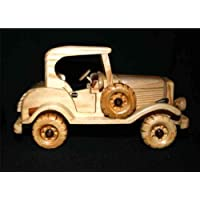 Handcrafted Wooden Toy Car Classic Vintage Model CMC_MODELT_002