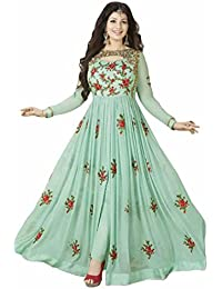 Aryan Fashion Indian Anarkali Dresses Suits Stitched For Girls - Long Anarkali Dresses Kurtis For Women For Wedding...