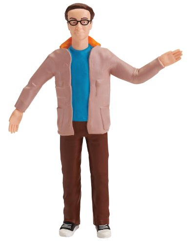 The Big Bang Theory Dr. Leonard Hofstadter 6-Inch Bendable Action Figure Toy